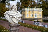 Statue In The Catherine Park In Pushkin (former Tsarskoe Selo),st.petersburg, Russia