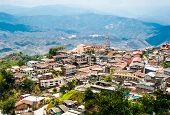 Zaruma - Town In The Andes, Ecuador
