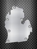 Michigan Metal Map