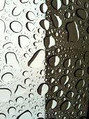 Contrasting Raindrops
