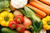 Vegetables. Organic food.