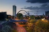 Beetham Tower And Arch Bridge