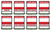 Real Estate For Sale Sign Short