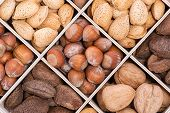 Mix Nuts In Crate