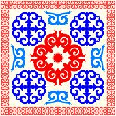 Kazakh national ornament