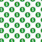 Dollar Sign Seamless Pattern