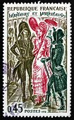 Postage Stamp France 1972 Incroyables And Merveilleuses