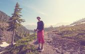 hiking in Mt.Baker area, Washington