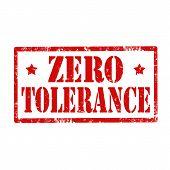 Zero Tolerance-stamp