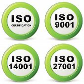 Vector Iso Certification Icon