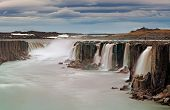 image of northeast  - Selfoss waterfall in Vatnajokull National Park Northeast Iceland - JPG