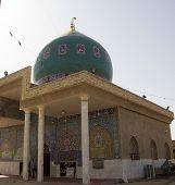 The shrine of Prophet Ayub