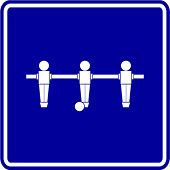 foosball sign