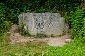 Hogpen Gap Rock Marker