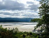 View across the estuary at Portmeirion