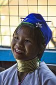 Young Kayan Woman smiling