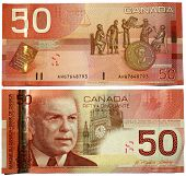 canadian dollars bank notes 50