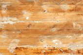 Old Wooden Boards Painted Background