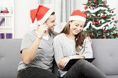 Happy Couple Makes A Wish List For Christmas