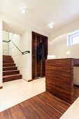 Modern Interior With Wooden Elements