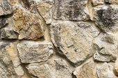 Part Of A Stone Wall, For Background Or Texture