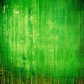 Rough vintage texture. With green patterns