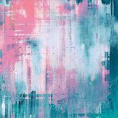 Rough grunge texture. With pink, purple, blue patterns