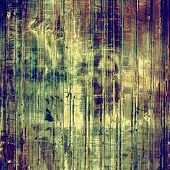 Grunge aging texture, art background. With yellow, violet, green, brown patterns