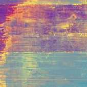 Grunge background with space for text. With yellow, purple, violet, blue patterns