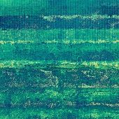 Vintage old texture for background. With green, blue patterns