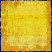 Grunge background with space for text. With yellow, brown, orange patterns