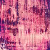 Old grunge template. With pink, red, purple, violet patterns