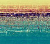 Art grunge vintage textured background. With yellow, violet, brown, blue patterns