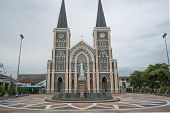 Chanthaburi, Thailand - Feb 8:   The Cathedral Of The Immaculate Conception On June, 2013 In Chantab