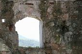 Window Of The Sommo Fort Used By The Austro Hungarian Army During World War I