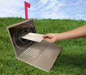 sending email outdoor