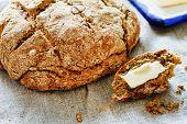 homemade wholegrain bread