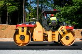 pic of road construction  - Heavy road construction equipment - JPG