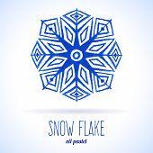 Doodle snow flake