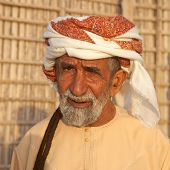 Elderly Omani Man