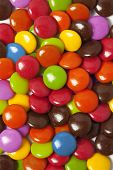 Multi Color Chocolate Candy