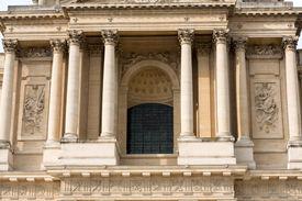 foto of bonaparte  - Entrance of Dome des Invalides burial site of Napoleon Bonaparte Paris France - JPG