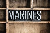 stock photo of marines  - The word  - JPG