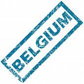 Belgium rubber stamp