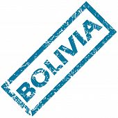 Bolivia rubber stamp
