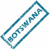 Botswana rubber stamp