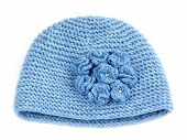 Blue Knitted Hat