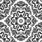 picture of damask  - Pattern in the style of baroque - JPG