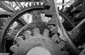 Original Gear Mechanism For Raising Lowering Murray Morgan Drawbridge