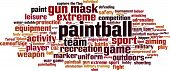 Paintball Word Cloud